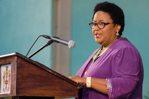 The Hon. Donna Parchment Brown, CD. JP, Jamaica's Political Ombudsman.